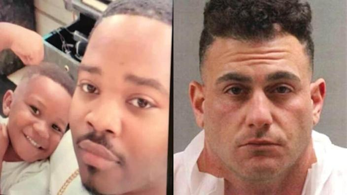 A falling-out over drug deals reportedly led to the slayings of Tukoyo Moore and his son, Tai'raz (left), allegedly at the hands of Nicholas Raad Bahri (right).