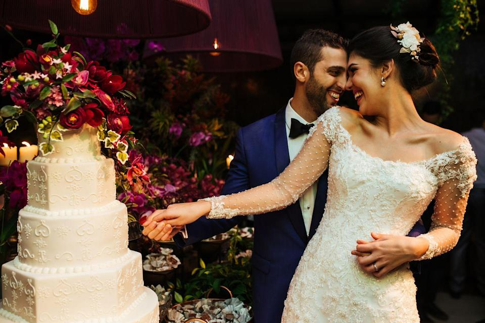<p>Some guests simply don't want to sit through a religious ceremony, but this is a big no-no. The couple invited you to the entire day, not just the parts that you're interested in.</p>
