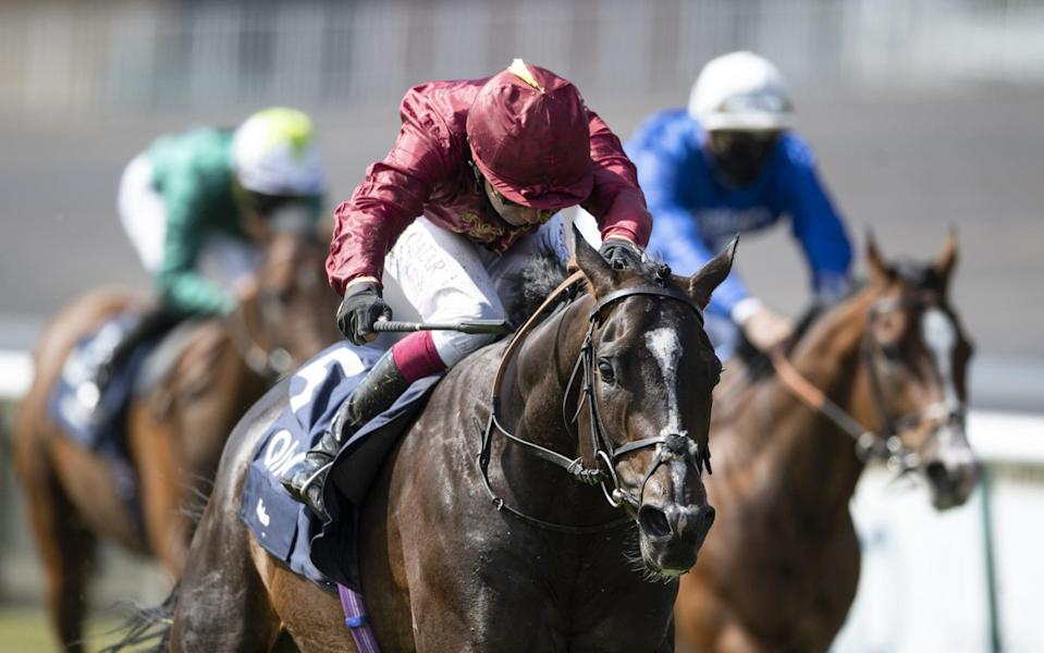 Kameko ridden Oisin Murphy were too good for favourite Pinatubo, who finished third - GETTY IMAGES