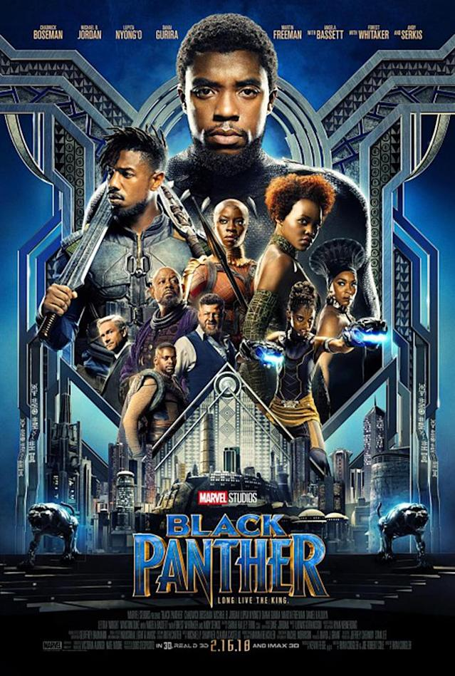 <p>Honestly, at this point, it's hard to separate the quality of <em>Black Panther</em>'s marketing from our unadulterated excitement and anticipation for the February 2018 release. But this is a sleek look regardless. (Photo: Disney) </p>