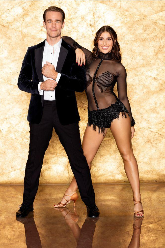 James Van Der Beek and Emma Slater onDancing with the Stars   Craig Sjodin/ABC