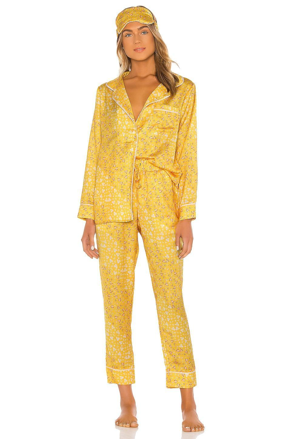 <p>This sunny <span>Plush Floral PJ &amp; Eye Mask Set</span> ($158) is so sweet. Paired with the matching eye mask, it practically ensures a good night's sleep!</p>