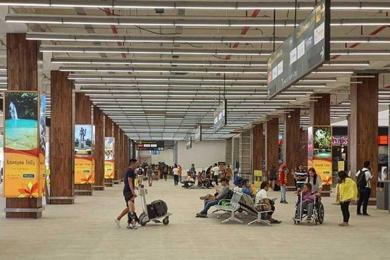 Mactan airport catered to 24 domestic flights on June 6-9