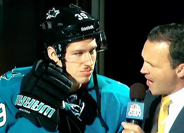 Logan Couture's mustache is something you can't not see (Photo)