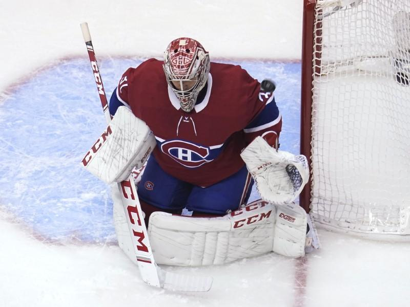 NHL: Eastern Conference Qualifications-Pittsburgh Penguins at Montreal Canadiens