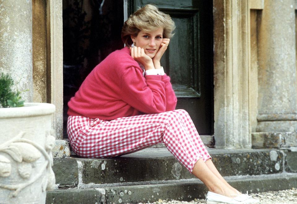 """<p>Known as the people's princess, Lady Diana Spencer was one of the most recognized and influential style icons in the world. Paving the way for future fashionable royals like daughters-in-law <a href=""""https://www.elle.com/fashion/celebrity-style/news/g8421/kate-middleton-style/"""" rel=""""nofollow noopener"""" target=""""_blank"""" data-ylk=""""slk:Kate Middleton"""" class=""""link rapid-noclick-resp"""">Kate Middleton</a> and <a href=""""https://www.elle.com/fashion/celebrity-style/news/g29118/meghan-markle-style/"""" rel=""""nofollow noopener"""" target=""""_blank"""" data-ylk=""""slk:Meghan Markle"""" class=""""link rapid-noclick-resp"""">Meghan Markle</a>, Diana made bold statements with her sartorial choices, from bright suits and dramatic gowns to her famous wedding dress. Several of her most memorable ensembles are depicted in <em><a href=""""https://www.elle.com/culture/movies-tv/a29612567/the-crown-season-4-news-date-cast-spoilers/"""" rel=""""nofollow noopener"""" target=""""_blank"""" data-ylk=""""slk:The Crown"""" class=""""link rapid-noclick-resp"""">The Crown </a></em><a href=""""https://www.elle.com/culture/movies-tv/a29612567/the-crown-season-4-news-date-cast-spoilers/"""" rel=""""nofollow noopener"""" target=""""_blank"""" data-ylk=""""slk:season 4"""" class=""""link rapid-noclick-resp"""">season 4</a>, as played by <a href=""""https://www.elle.com/culture/movies-tv/a34479970/emma-corrin-the-crown-season-4-princess-diana-interview/"""" rel=""""nofollow noopener"""" target=""""_blank"""" data-ylk=""""slk:newcomer Emma Corrin"""" class=""""link rapid-noclick-resp"""">newcomer Emma Corrin</a>. But there are tons of worthy pieces that don't make it into the final edit.<br></p><p> Relive some of Princess Diana's most underrated style moments—many of which are still in vogue today.</p>"""