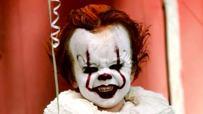 This 3-Year-Old Boy Dressed As Pennywise Is The Stuff Of Nightmares