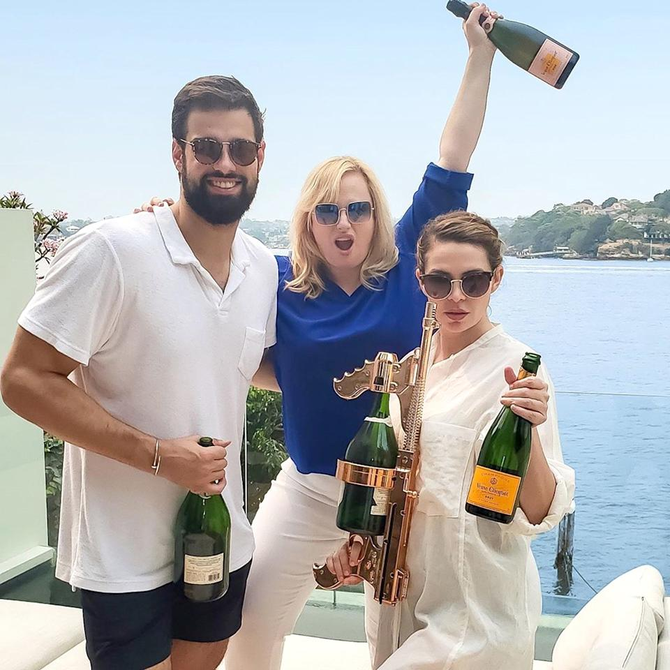 """The Australian actress <a href=""""https://people.com/movies/rebel-wilson-celebrates-new-years-australia/"""">celebrated the new year</a> in her native country, spending time with friends and reflecting on her achievements from the past decade.  The <em>Cats</em>star shared a series of posts to<a href=""""https://www.instagram.com/p/B6ttXnoJZ9h/"""">Instagram</a>detailing her proudest accomplishments from 2019 as well as how she spent her final day of the year.  """"Guys, exactly this time last decade I was taking a huge risk and moved to Hollywood with just one suitcase and a doona in my hand,"""" she captioned the thoughtful photo.  """"I couldn't be prouder of all the films, TV shows and live performances I've done since then and all the wonderful people I've met along the journey who have helped and supported me. I appreciate you all so much 💕,"""" she continued, adding that she """"can't wait to see what this next decade brings!"""""""