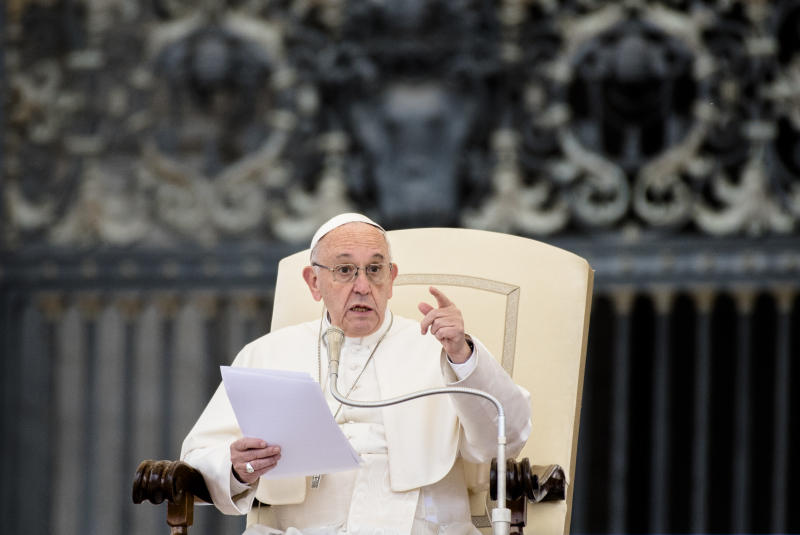 Pope Francis has long been an advocate for action on climate change. (NurPhoto via Getty Images)