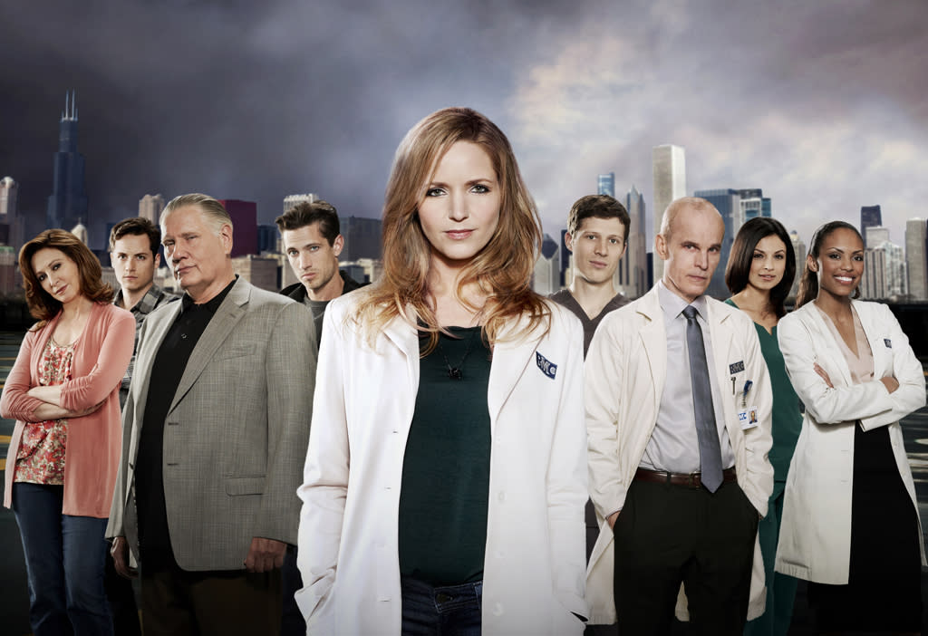 "<b>""The Mob Doctor""</b> <b>(Fall Drama)</b><br><br>The compelling new drama ""The Mob Doctor"" will debut this fall. Executive-produced by Josh Berman (""Bones"", ""CSI: Crime Scene Investigation"") and Rob Wright (""Crossing Jordan""), the engrossing character drama stars Jordana Spiro (""My Boys"") as a brilliant, life-saving surgeon caught in a complex web between her promising medical career and her family's debt to Chicago's Southside mob."
