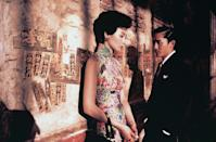 """<a href=""""http://movies.yahoo.com/movie/in-the-mood-for-love/"""" data-ylk=""""slk:IN THE MOOD FOR LOVE"""" class=""""link rapid-noclick-resp"""">IN THE MOOD FOR LOVE</a> (2001)<br>Directed by: <span>Wong Kar-Wai</span> <br>Starring: <span>Maggie Cheung</span> and <span>Tony Leung</span>"""