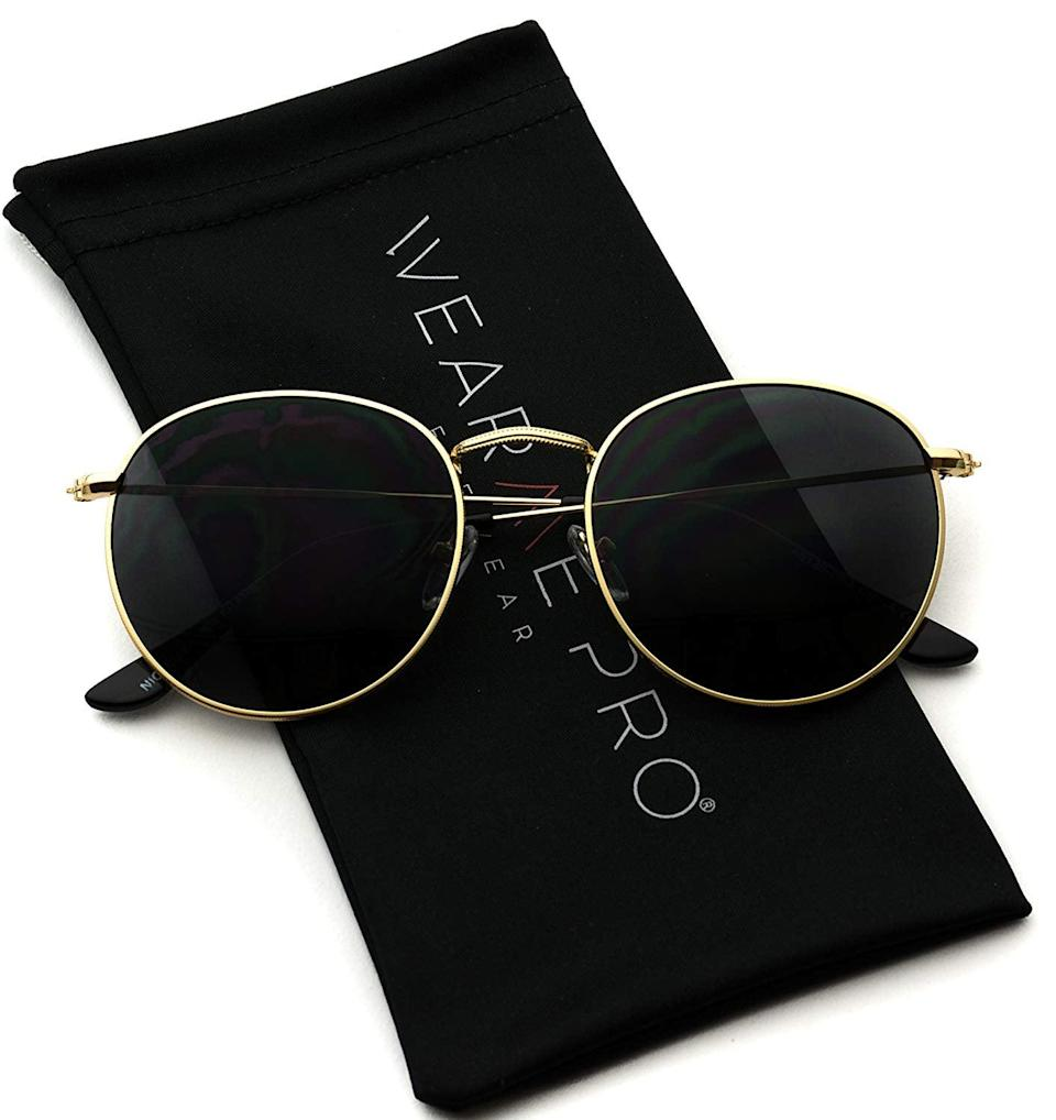 <p>These <span>WearMe Pro Sunglasses</span> ($24) even come with a case.</p>