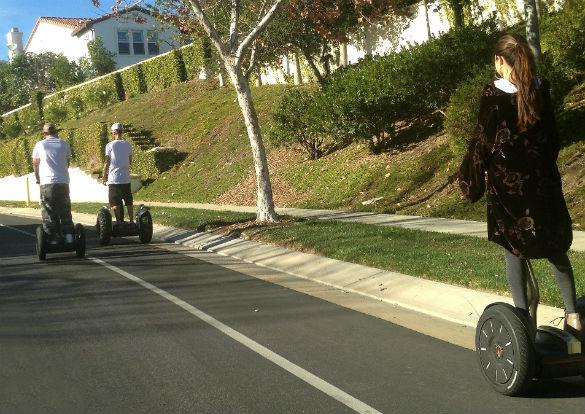 Justin Bieber And Selena Gomez's Segway Date Stops Traffic