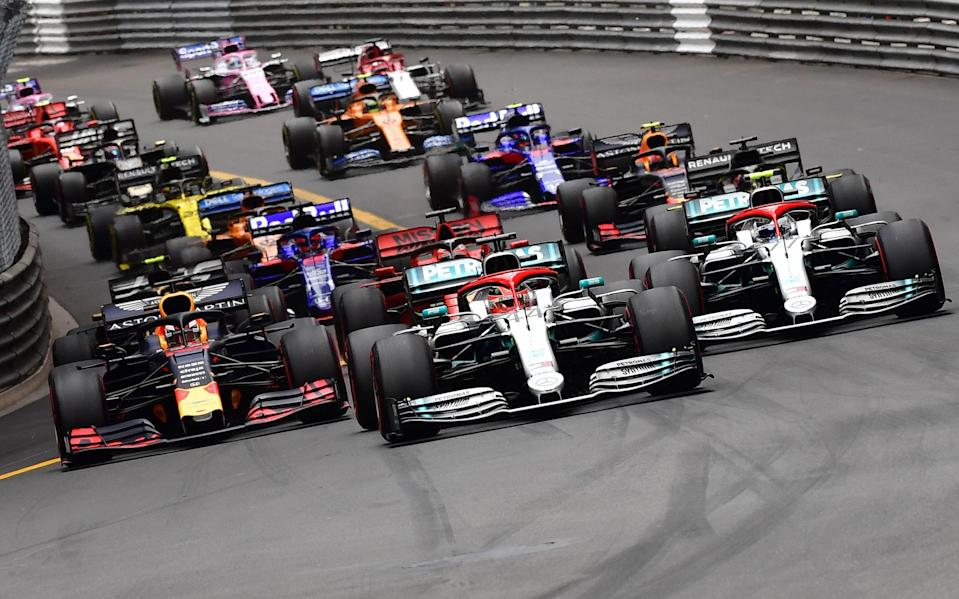 Formula 1 are currently engaged in 'active' talks with Amazon over future broadcast deals - ANDREJ ISAKOVIC/AFP