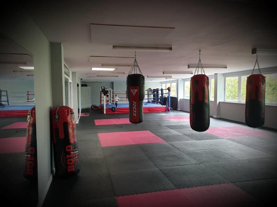 The Training Station gym faces closure. Photo: The Training Station