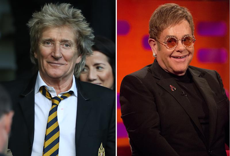 Rod Stewart says Elton John's farewell tour is 'dishonest'