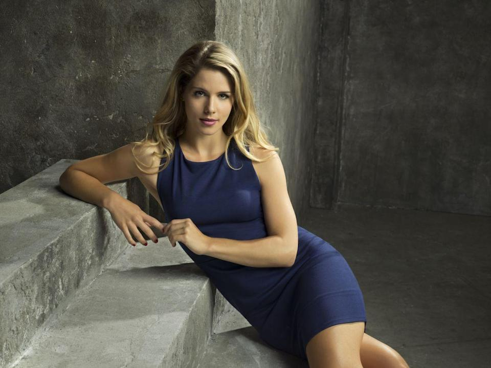 """<p>Felicity Smoak, played by Emily Bett Rickards, was only meant to appear as a guest character in season one. But Rapaport <a href=""""https://www.cbr.com/emily-bett-rickards-brings-personality-to-arrows-felicity-smoak/"""" rel=""""nofollow noopener"""" target=""""_blank"""" data-ylk=""""slk:loved"""" class=""""link rapid-noclick-resp"""">loved</a> her. """"That could have just been a one-line role but she popped,"""" he said. </p>"""