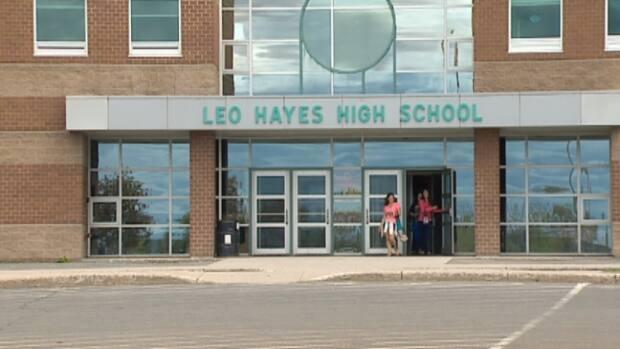 New Brunswick Public Health has confirmed a third case of COVID-19 at Leo Hayes High School in Fredericton over the weekend.