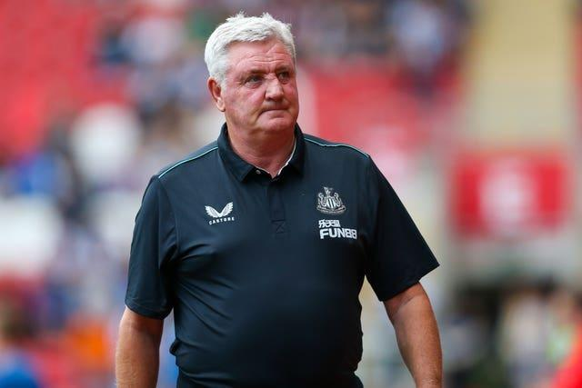 Newcastle fans have chanted for the sacking of Steve Bruce after a winless start to the season