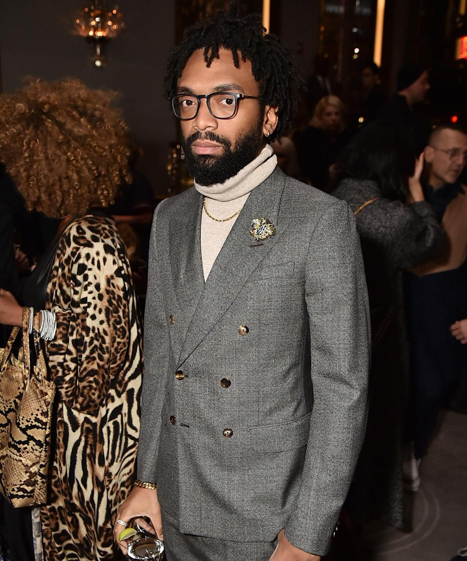 """<strong><h2>Pyer Moss at Couture Week</h2></strong>""""The thing I'm most excited about in July is <a href=""""https://www.refinery29.com/en-us/2021/05/10471098/pyer-moss-kerby-jean-raymond-haute-couture-paris-fashion-week-debut"""" rel=""""nofollow noopener"""" target=""""_blank"""" data-ylk=""""slk:Pyer Moss' first couture show"""" class=""""link rapid-noclick-resp"""">Pyer Moss' first couture show</a> on July 8. Not only is designer, Kerby Jean-Raymond, the <a href=""""https://wwd.com/fashion-news/fashion-scoops/pyer-moss-to-join-paris-couture-july-1234822059/"""" rel=""""nofollow noopener"""" target=""""_blank"""" data-ylk=""""slk:first Black American designer to be invited to participate"""" class=""""link rapid-noclick-resp"""">first Black American designer to be invited to participate</a> as part of Paris Haute Couture Fashion Week by the Chambre Syndicale de la Haute Couture, but this event will also mark his first runway show in two years, following the release of his third and final collection in <a href=""""https://www.refinery29.com/en-us/2019/09/8373270/pyer-moss-spring-2020-collection"""" rel=""""nofollow noopener"""" target=""""_blank"""" data-ylk=""""slk:the """"American, Also"""" series, a showcase of what it means to be Black in America"""" class=""""link rapid-noclick-resp"""">the """"American, Also"""" series, a showcase of what it means to be Black in America</a>."""" — <em>Eliza Huber, Fashion Writer</em><br><span class=""""copyright"""">Photo: Theo Wargo/Getty Images for NYFW: The Shows.</span>"""