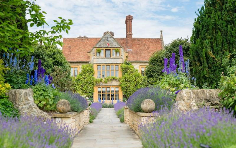 Raymond Blanc's 15th-century, honey-coloured Oxfordshire manor house is a temple to fine dining