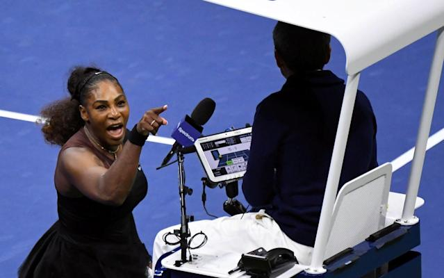 Serena Williams launched a tirade at Carlos Ramos during the US Open final - USA Today Sports