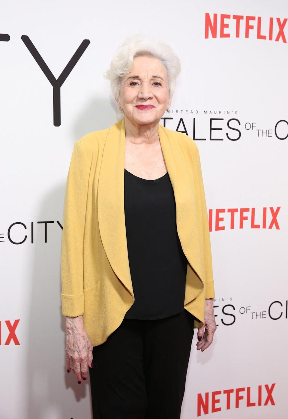 Olympia Dukakis à New York en 2019 - THEO WARGO / GETTY IMAGES NORTH AMERICA / GETTY IMAGES VIA AFP