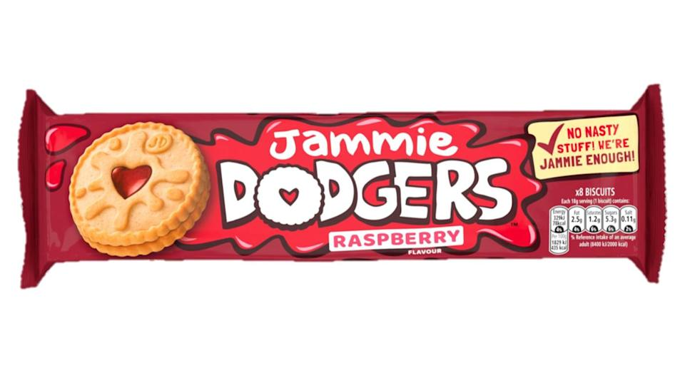 This isn't the brand's first foray into veganism. (Jammie Dodgers)