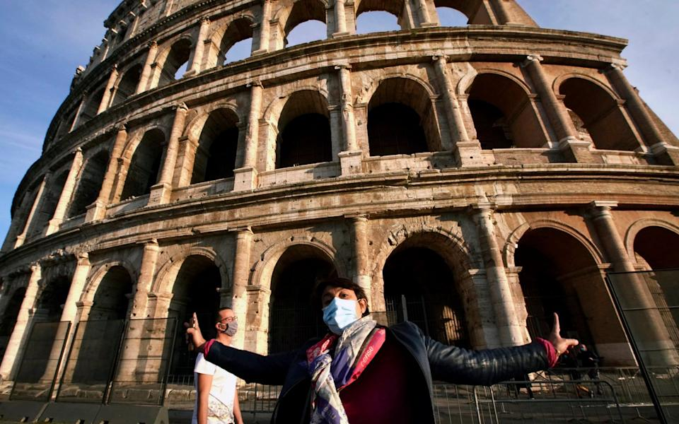 Italy's Prime Minister Giuseppe Conte says the aim of Italy's new anti-virus restrictions is to head off another generalised lockdown.