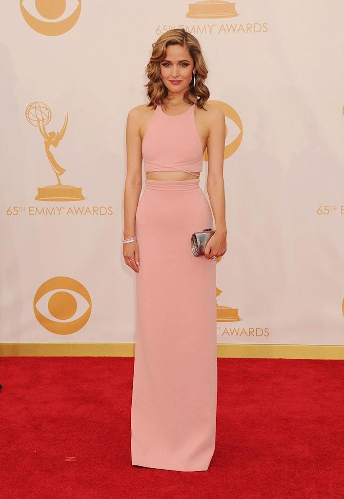 At the 65th Emmy Awards, September 2013