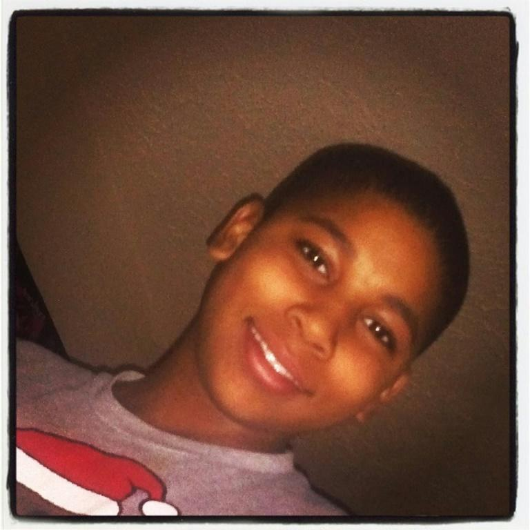 Tamir Rice (shown in an undated family photo) was shot to death by police officers while he was playing with a pellet gun in a park in Cleveland, Ohio in November 2014