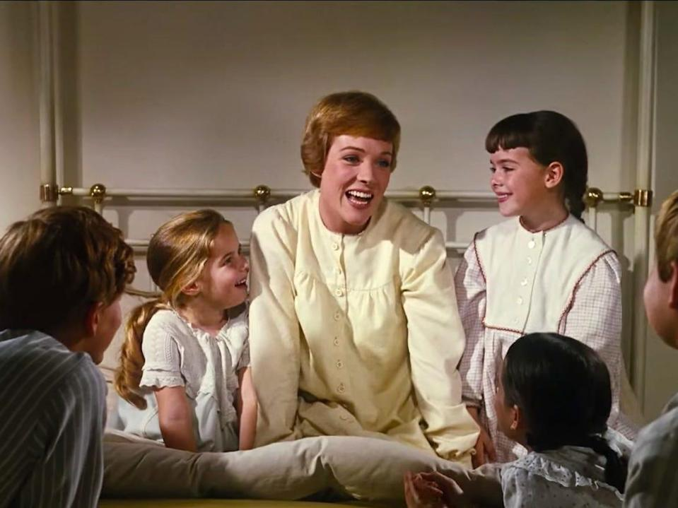 The Sound of Music Julie Andrews 1965 best picture