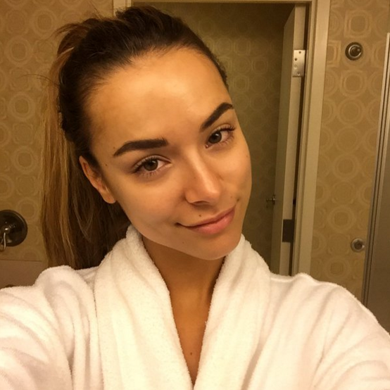 """<p>""""Here is my no-makeup selfie to demonstrate that @missuniverse doesn't need makeup to be #ConfidentlyBeautiful !!!"""" <i>(Photo: <a href=""""https://twitter.com/Monika_Rad/status/677187796470095872"""" rel=""""nofollow noopener"""" target=""""_blank"""" data-ylk=""""slk:Twitter"""" class=""""link rapid-noclick-resp"""">Twitter</a>)</i></p>"""