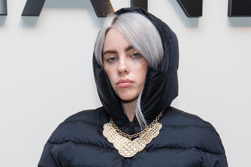 Accident-prone Billie Eilish shared a picture of her ripped nail on social media. [Photo: Getty]