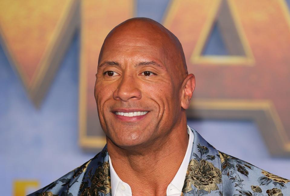 US actor Dwayne Johnson arrives for the World Premiere of