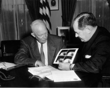 President_Eisenhower and NASA Administrator_Glennan
