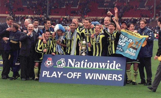 City needed the play-offs to escape from the third tier in 1999