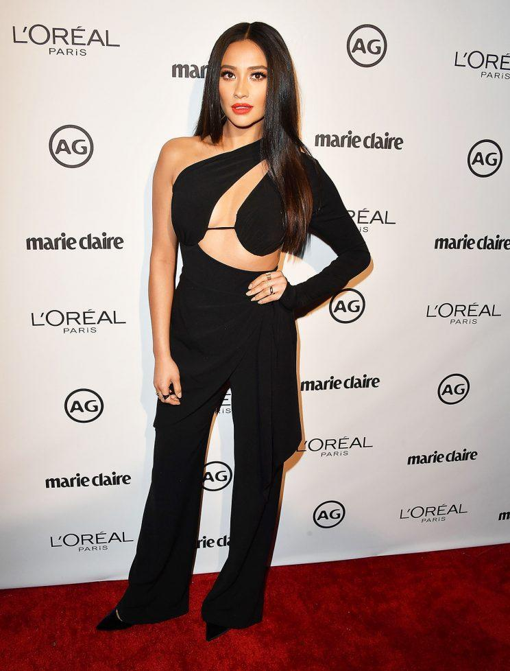 Shay Mitchell at Marie Claire's Image Maker Awards Photo: WireImage