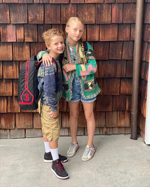 """<p>Jessica Simpson's kids are heading back to second and third grade, having """"finished the summer out strong,"""" <a href=""""https://www.instagram.com/p/CEnKZvGjlu2/"""">the mom of three wrote</a>.</p> <p>In this case, that means """"Ace has a busted lip and Maxi has a busted chin."""" Ah, to be a kid again.</p>"""