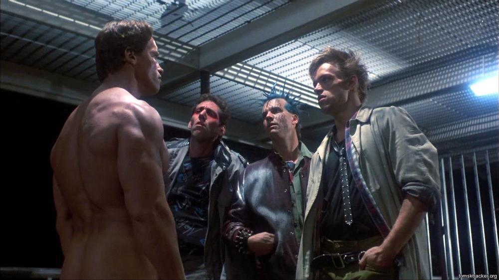 "<p>Yes, it's another one from 'The Terminator' which came up a few times throughout Arnie's filmography. Confronted by a disgruntled motel manager, the T-800 repeats what his would-be assailants said to him in the first scene: ""F*** you a**hole."" Yes, Schwarzenegger is very good at swearing; this won't be the only line in this selection that we'll be obliged to censor. (Picture credit: MGM-UA) </p>"