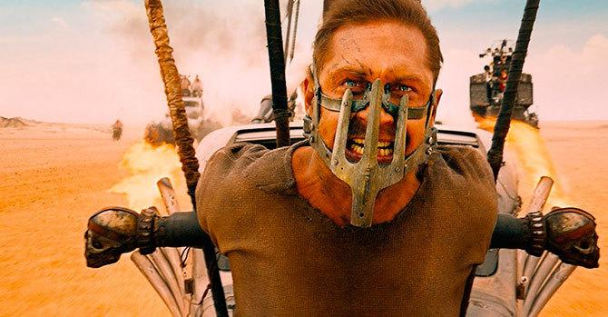 Tom Hardy en Mad Max: Fury Road