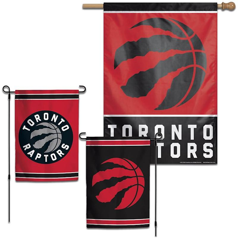 Raptors House and Garden Flag Pack