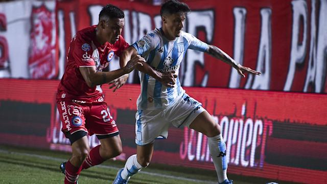 Fausto Vera Hector Fertoli Argentinos Juniors Racing Superliga 01022020