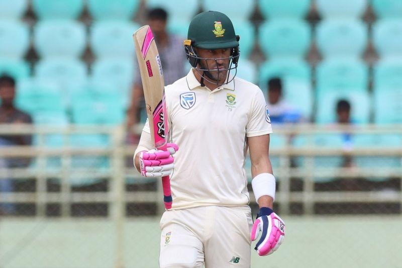 Faf du Plessis is South Africa's best bet against the English bowling attack