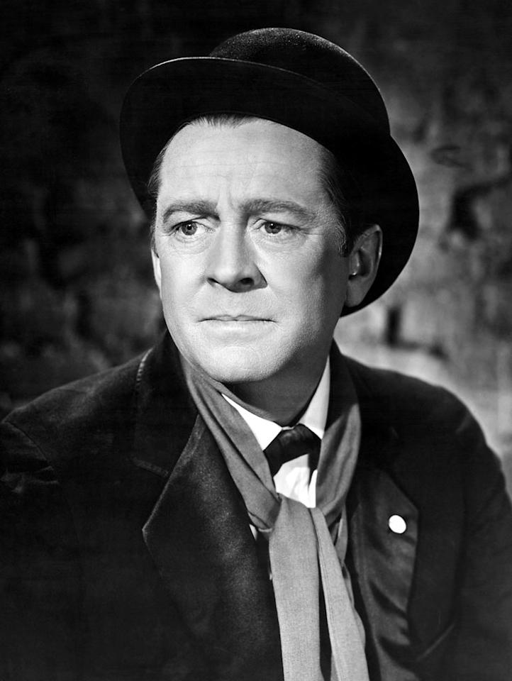 """James Dunn, Best Supporting Actor, 'A Tree Grows in Brooklyn' (1945)  1945 could be dubbed The Year of the Drunk at the Oscars. The same year that """"The Lost Weekend"""" took home Best Picture, Director, Actor, and Screenplay, James Dunn won Best Supporting Actor for his role as a lovable, slap-happy, alcoholic family man who can't keep a job."""