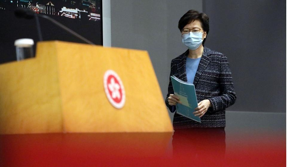 Carrie Lam has endorsed the coalition's direction. Photo: K.Y. Cheng