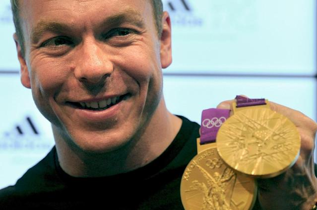 Hoy won six Olympic gold medals, including two in 2012 (AFP Photo/CARL COURT)
