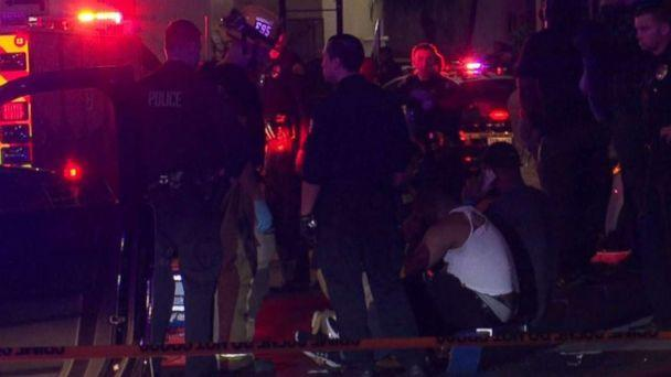 PHOTO: Three people were killed and four others injured in a shooting at a bowling alley in Torrance, Calif., on Friday, Jan. 4, 2019. (OnScene.TV)