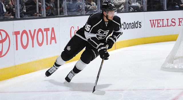 Slava Voynoy is a scumbag and shouldn't be allowed back in the league. (Photo by Juan Ocampo/NHLI via Getty Images)