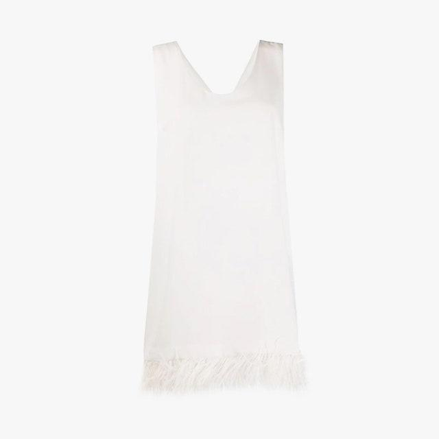 "$757, FARFETCH. <a href=""https://www.farfetch.com/ca/shopping/women/parosh-feather-trimmed-mini-dress-item-14831931.aspx?storeid=10030"" rel=""nofollow noopener"" target=""_blank"" data-ylk=""slk:Get it now!"" class=""link rapid-noclick-resp"">Get it now!</a>"